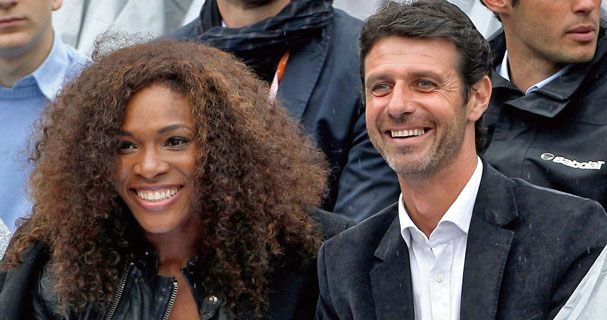 Serena and her coach dating