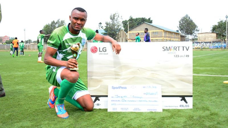 Gor Mahia forward Jacques Tuyisenge Is the SportPesa