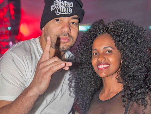 2013s Global Spin Awards DJ of the Year, New York's DJ Envy with DJ Pierra M at Smirnoff Sepetuka Carnivore 2013